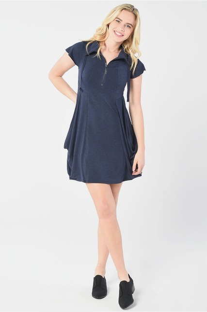 Quarter Zip Dress