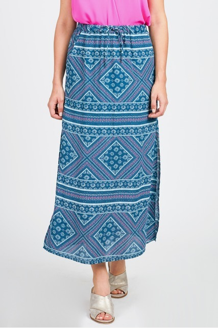 High Side Slit Maxi Skirt