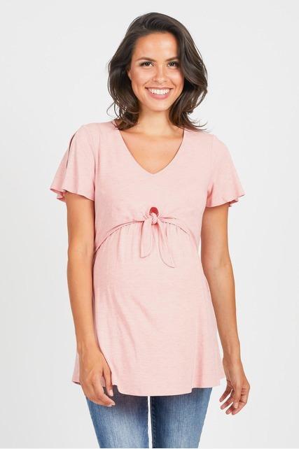 Split Sleeve Nursing Tunic