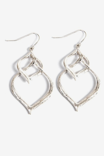 Intertwined Hoop Earring