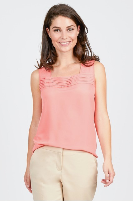 Pleated Panel Top