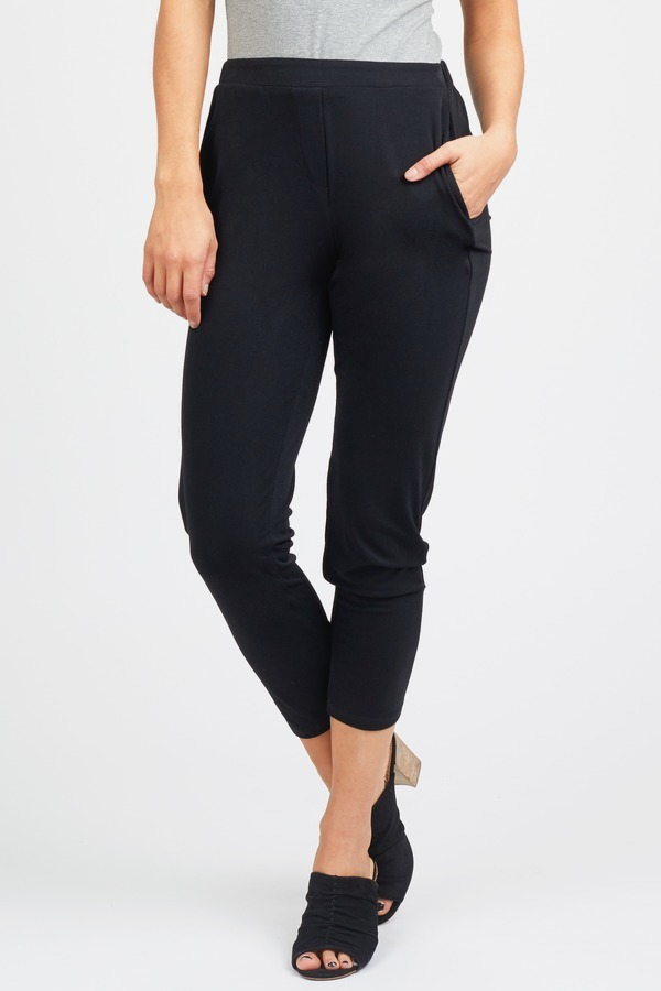 High Waisted Woven Pant