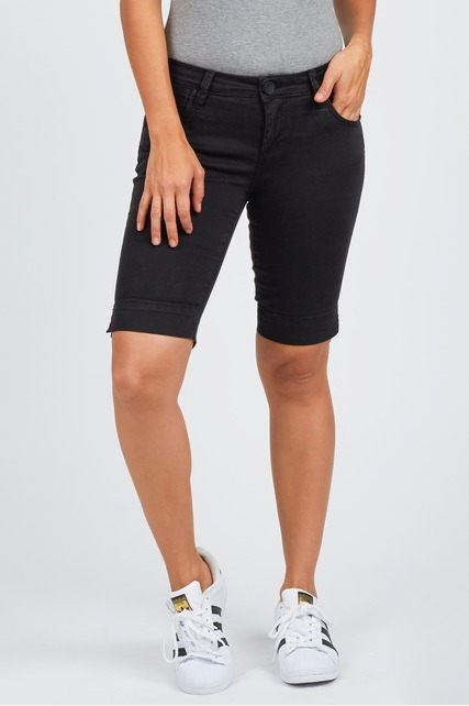 Split Side Bermuda Short