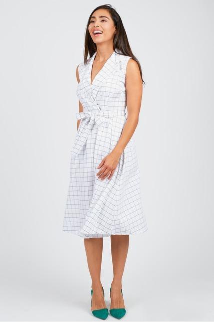Belted Wrap Shirtdress
