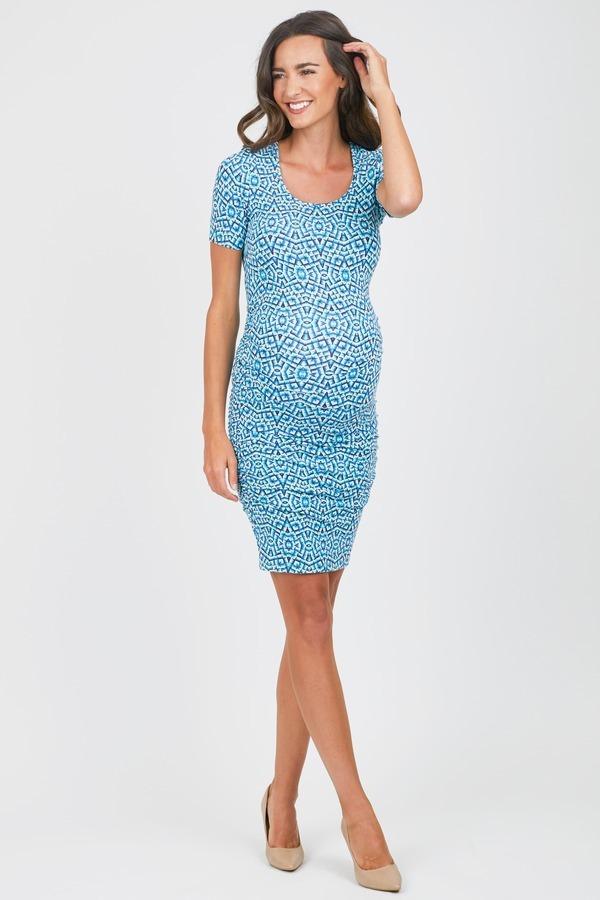 Mosaic Body Con Dress