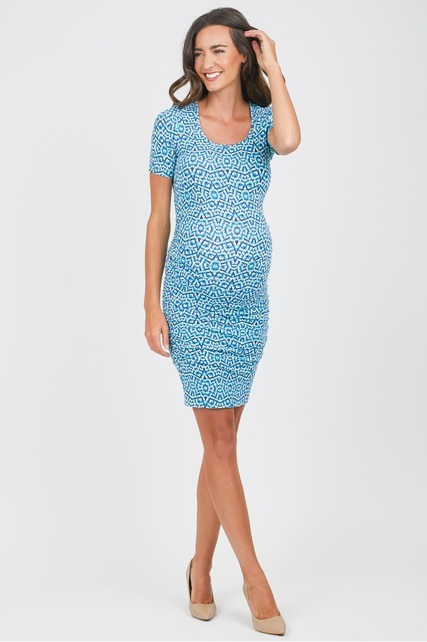 Mosaic Body Con Dress