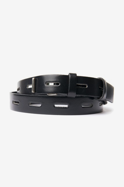Toggle Buckle Leather Belt