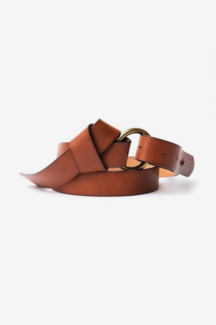 Leather Knot Belt