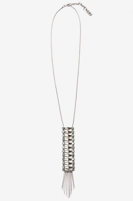 Stacked Linear Necklace