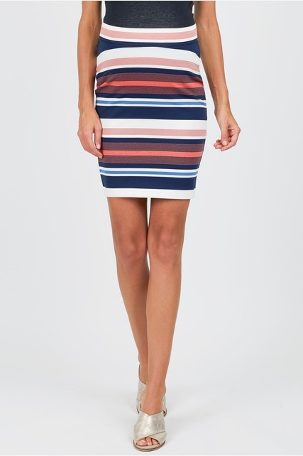 Variegated Stripe Skirt