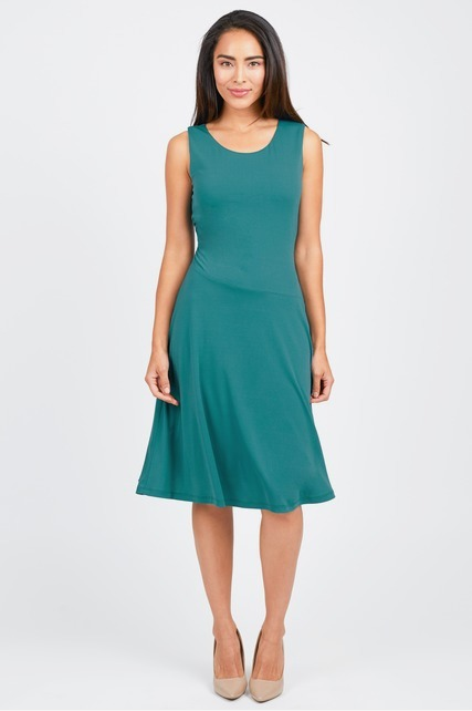 Asymmetrical Seam Dress