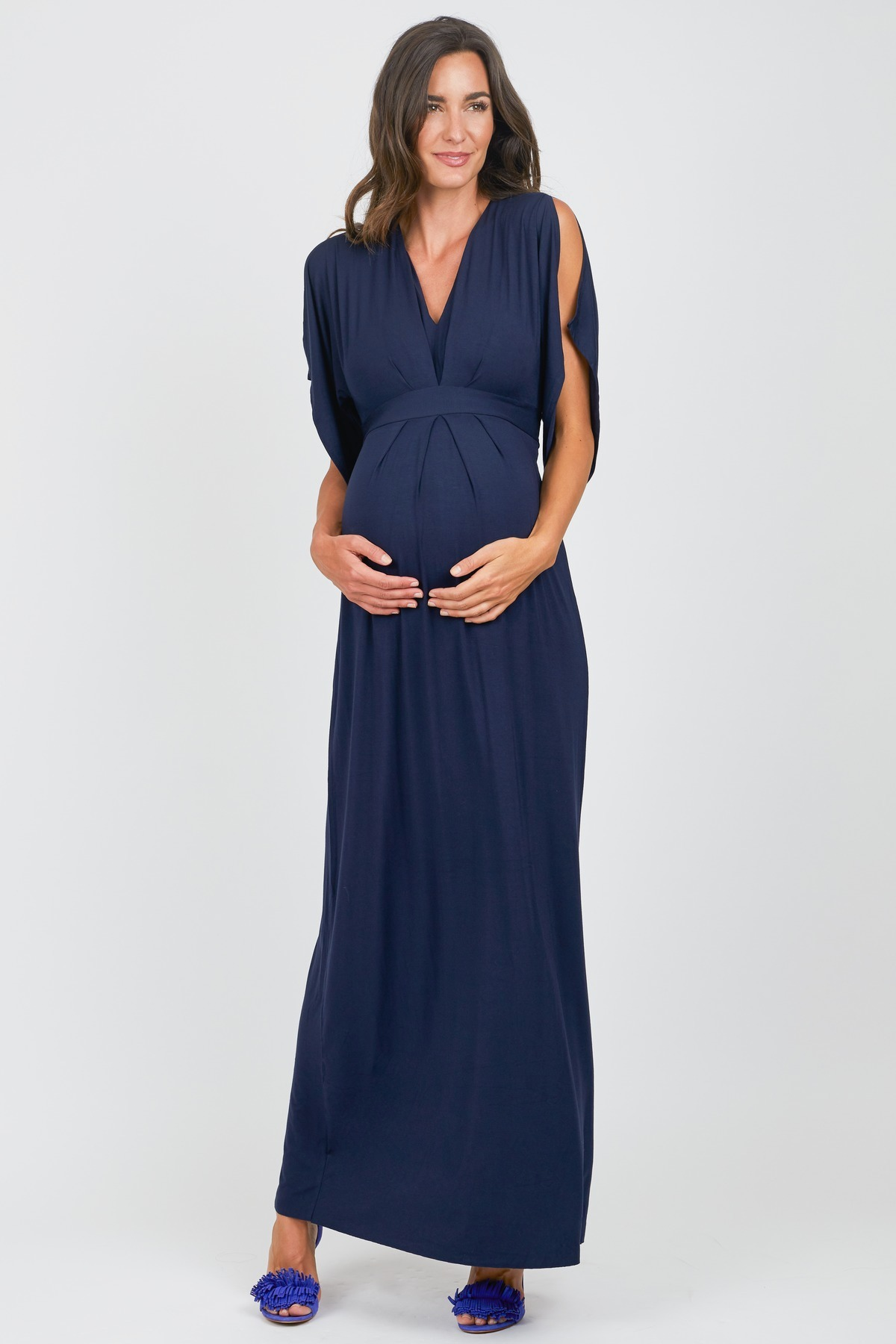 Split Sleeve Maxi Dress by Ingrid & Isabel - Rent Clothes with Le Tote