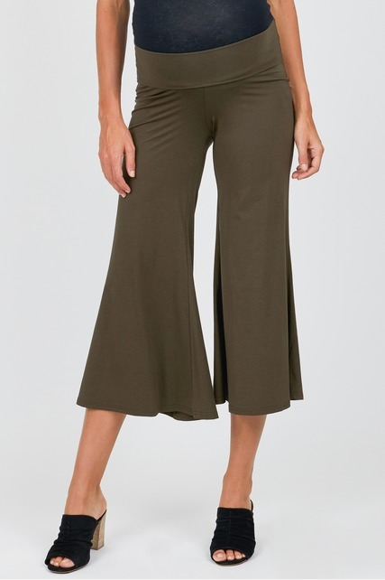 Cropped Gaucho Pant