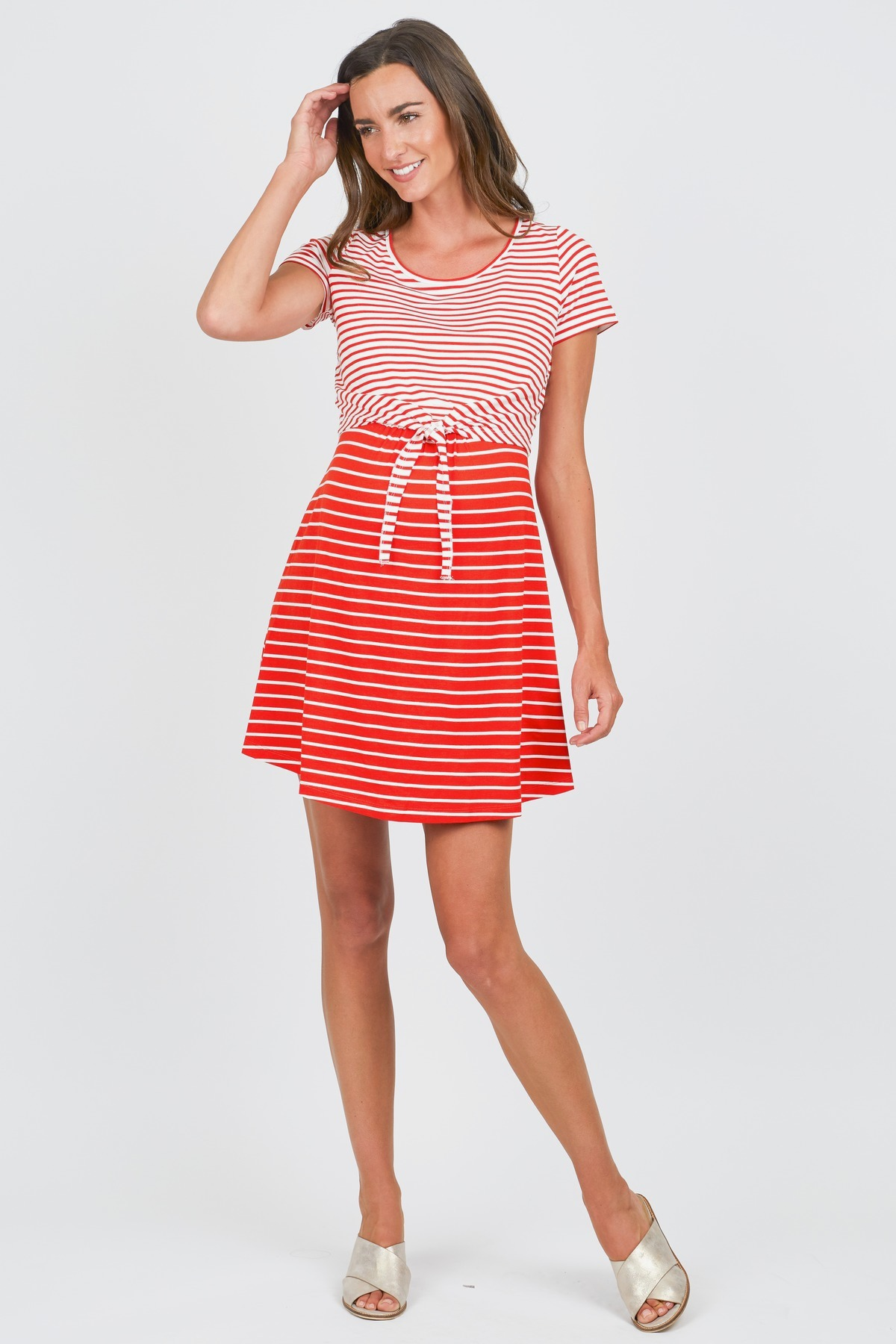 2436d5ad058d9 Tie Front Nursing Dress by Seraphine - Rent Clothes with Le Tote