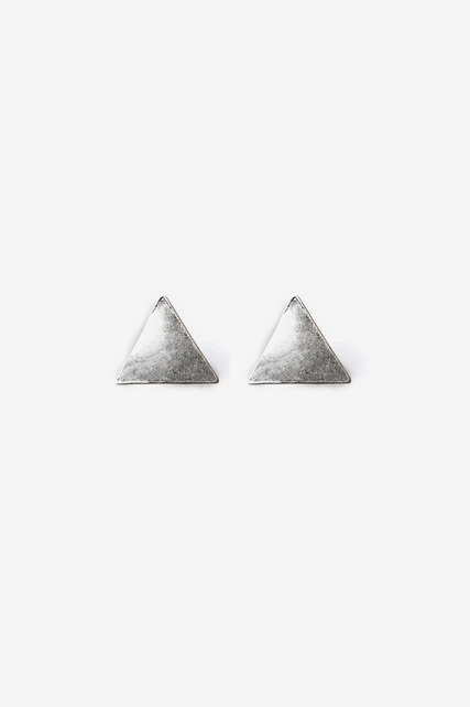 Small Triangle Stud