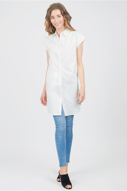 Cap Sleeve Tunic Shirt