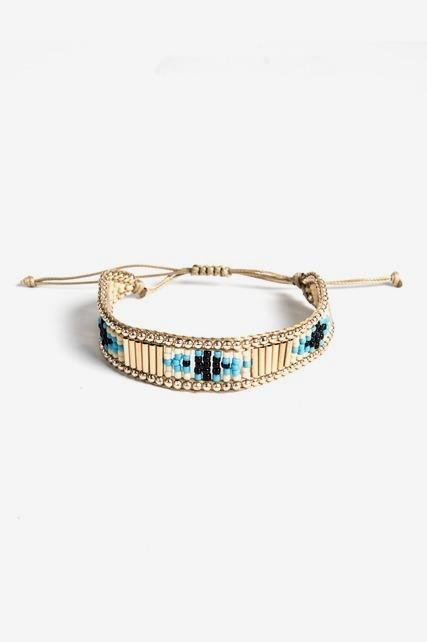 Beaded Pull Bracelet