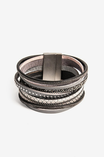 Textured Layer Bracelet