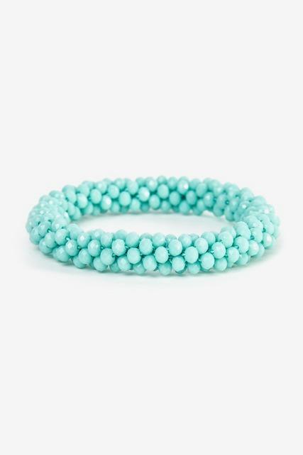 Cluster Bead Bracelet