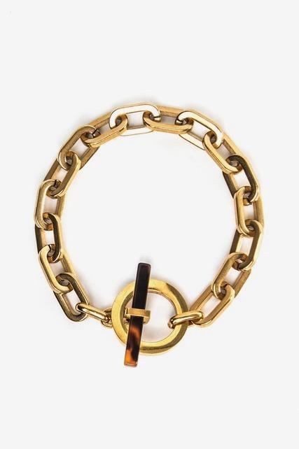 Chainlink Toggle Bracelet