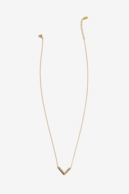 Delicate V Necklace