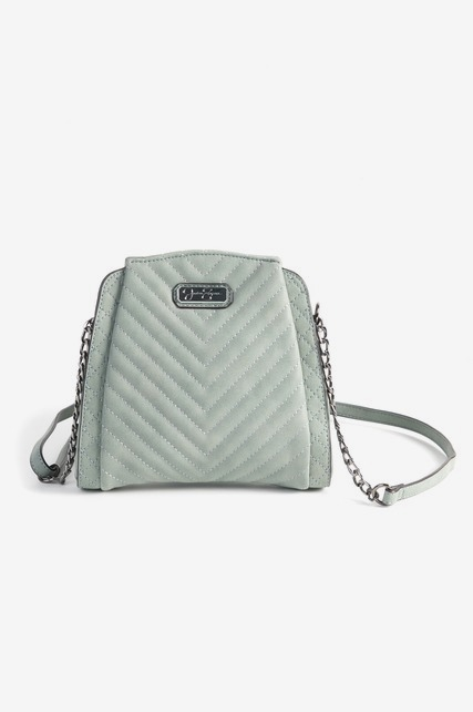 Sueded Mini Crossbody