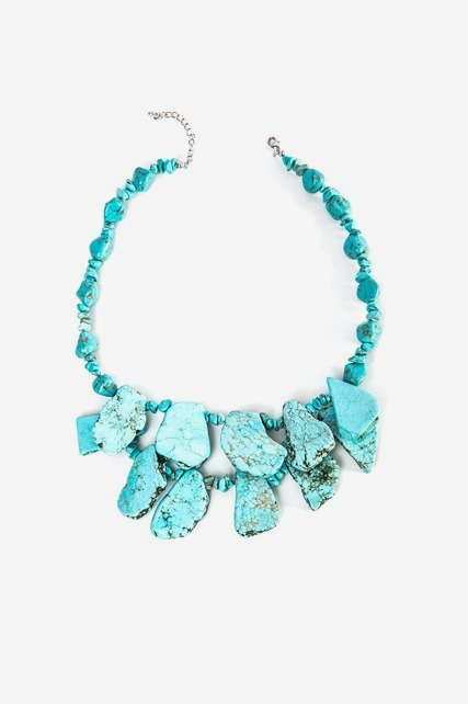 Large Turquoise Necklace