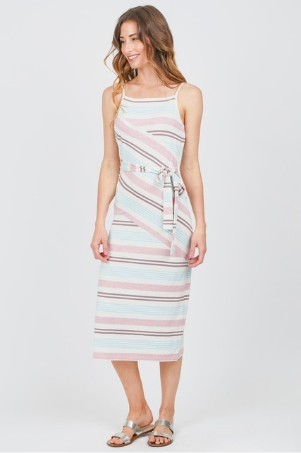 Split Side Midi Dress