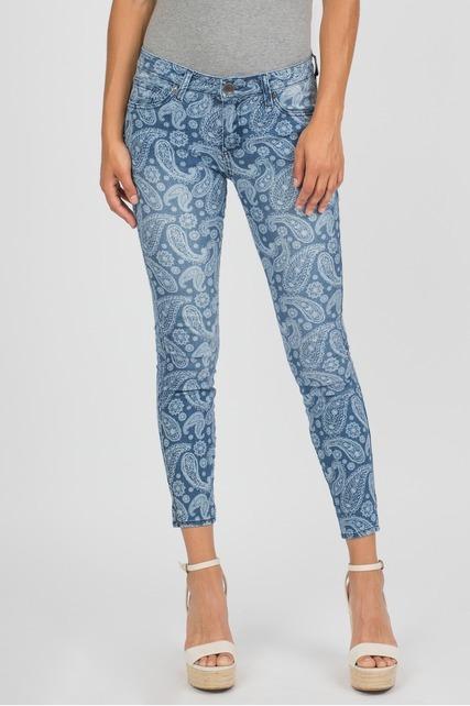 Paisley Skinny Jean