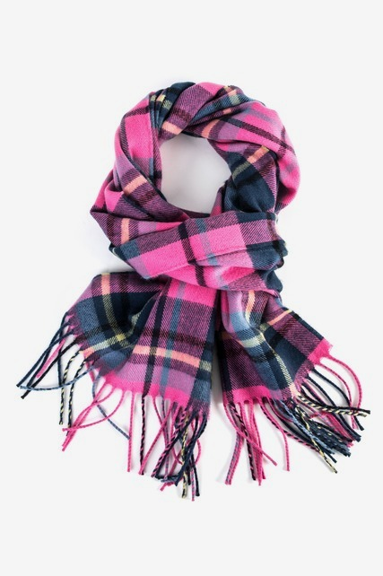 Flannel Plaid Scarf
