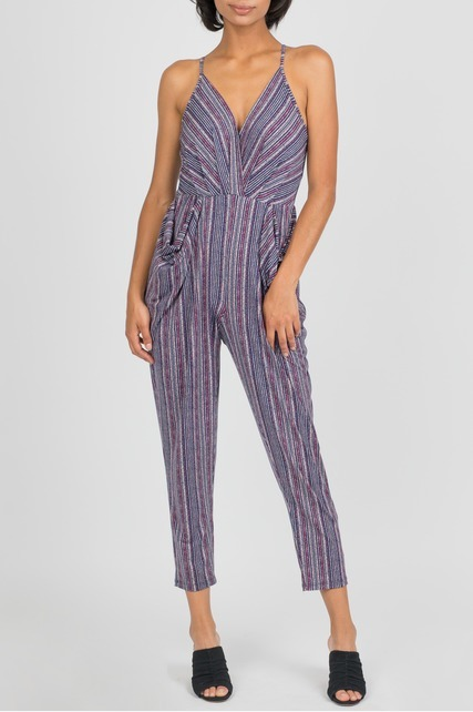 Drape Pocket Jumpsuit
