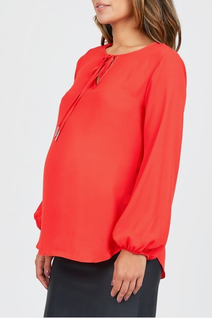 Bubble Sleeve Blouse