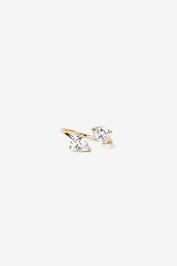 Overlapping Crystal Ring