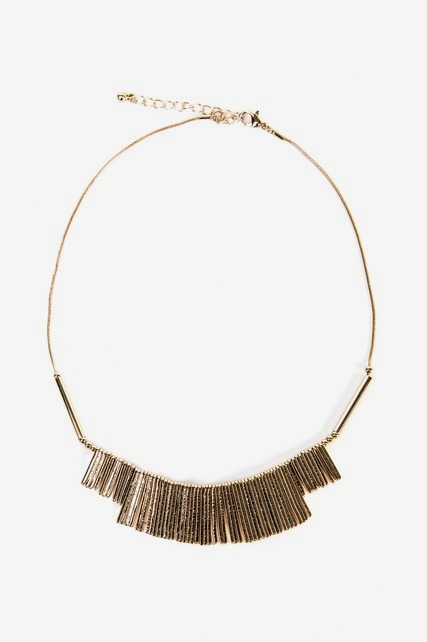 Linear Statement Necklace