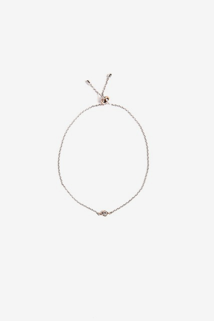 Delicate Slider Bracelet