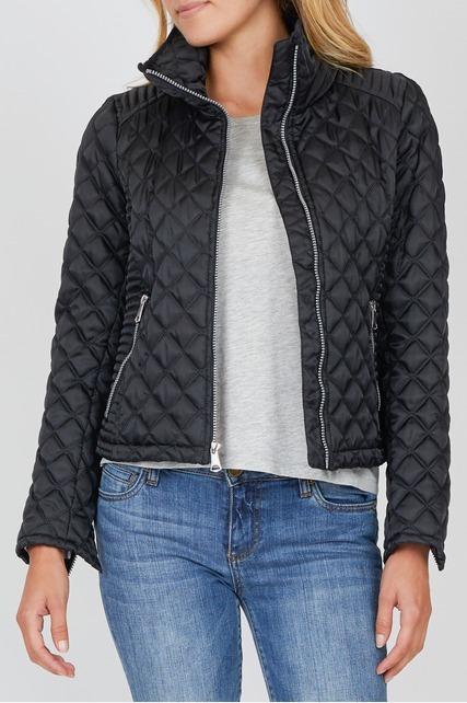 Quilted Zip Up Jacket