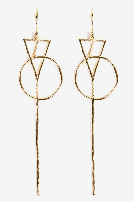 Long Interlocking Earring