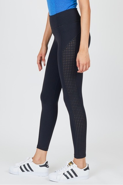 Mesh Side Legging