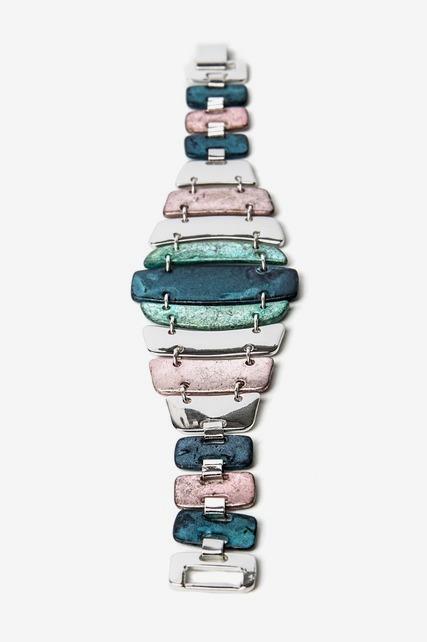Rustic Wide Panel Bracelet