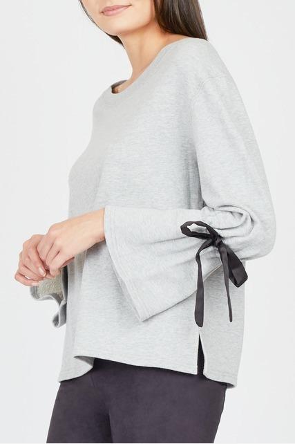 Bow Sleeve Sweatshirt