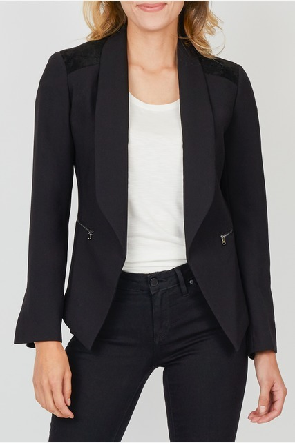Stitch Detail Blazer