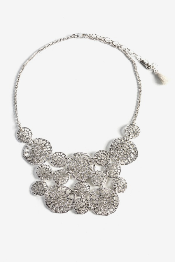 Filigree Statement Necklace