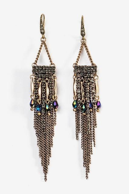 Chain Fringe Earring