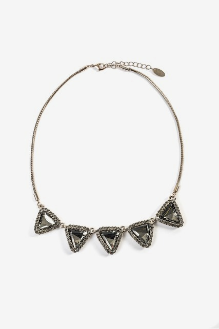 Triangle Statement Necklace