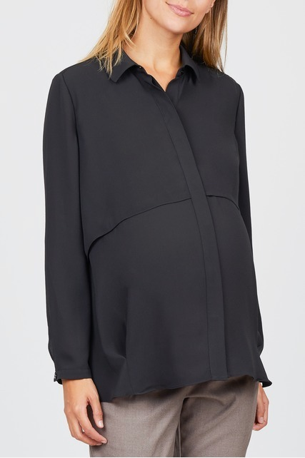 Double Layer Button Up