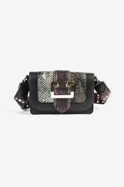 Mixed Media Crossbody