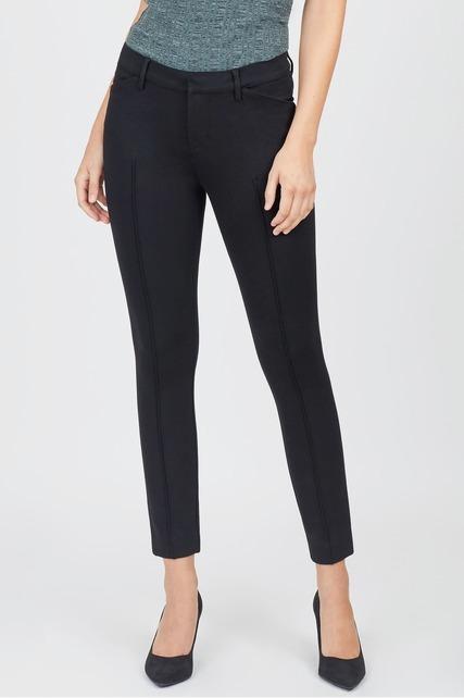 Black Center Seam Trouser