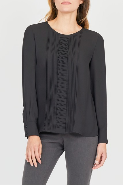 Pintuck Pleat Blouse