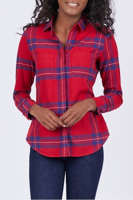 Ruffle Cuff Shirt