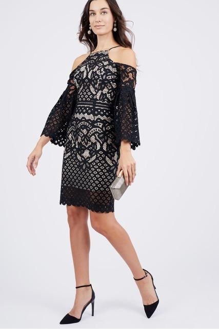 Back Keyhole Lace Dress